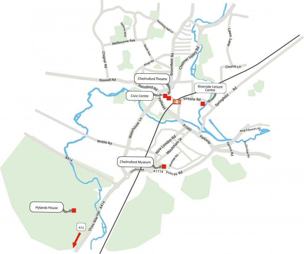 Chelmsford City Venues